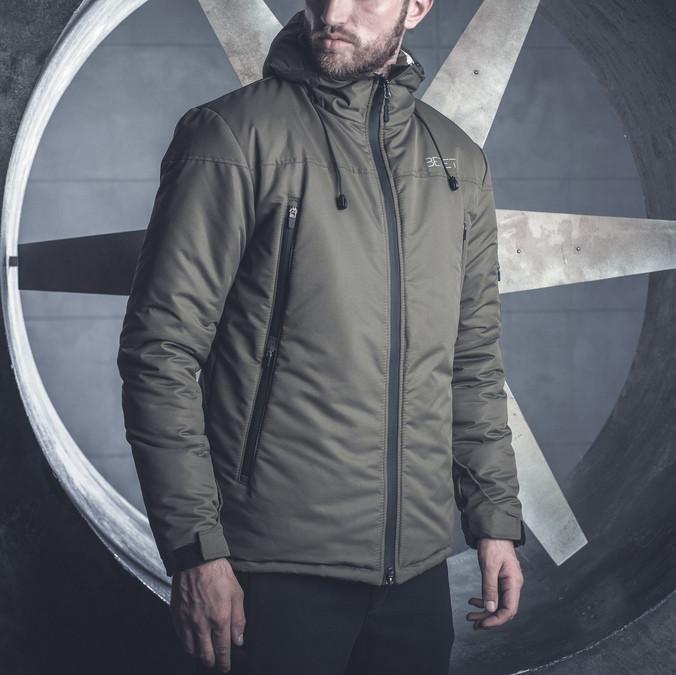 Зимняя мужская куртка BeZet Tech '19 хаки