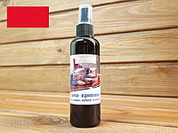 Спрей краска для замши, велюра и нубука Dr.Leather 100мл цвет Ярко красный