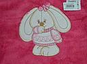 """Пижама теплая для девочки """"Зайка"""" розовая, велсофт (р. 128 cм) (Украина), фото 3"""
