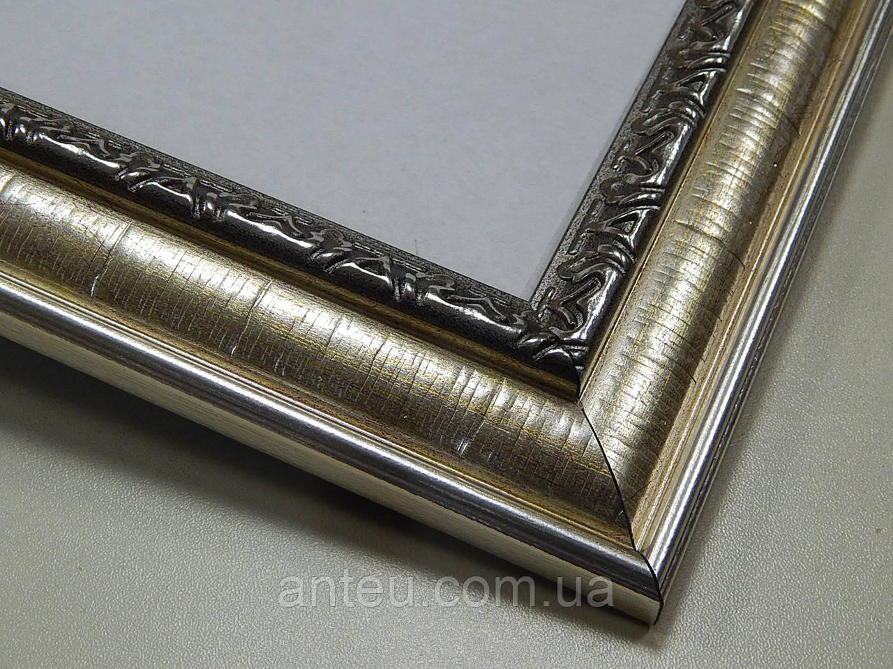 ФОТОРАМКА А2 (420х594)Антибликовое стеклоРамки для фото,вышивок,картин.