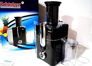 Schtaiger SHG 716 соковыжималка, 800 Вт, 2 режима , фото 3