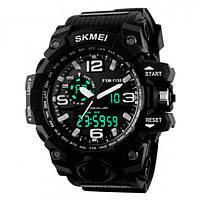 Мужские часы Skmei 1238 Black КОД: 636633