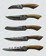 """Набор ножей """"Лисий хвост"""" ручной работы"""