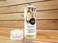 Аэрозоль краска для замши, велюра и нубука Dr.Leather 384мл цвет Черный