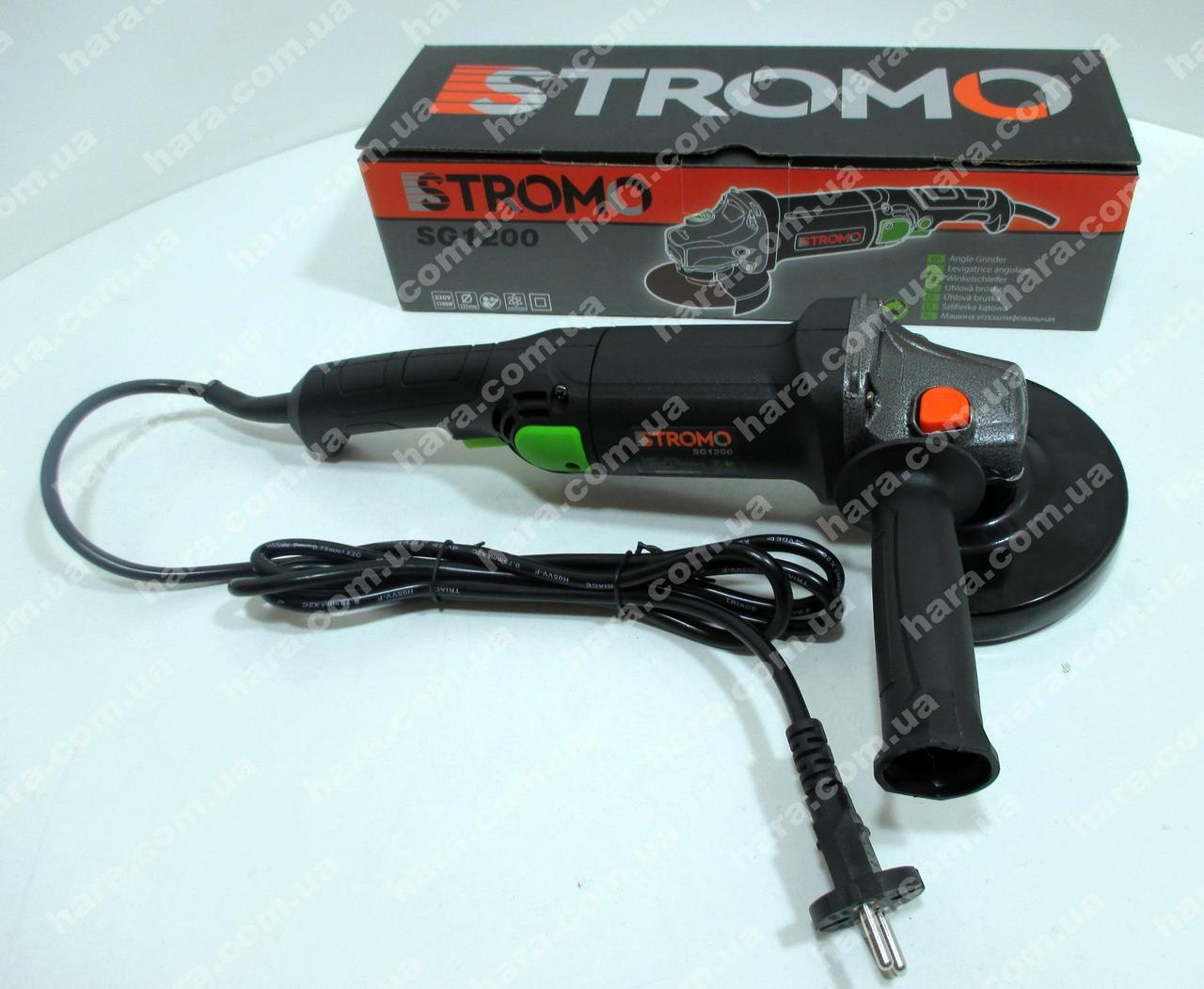 Болгарка Stromo SG1200 (125 круг, длинная ручка)