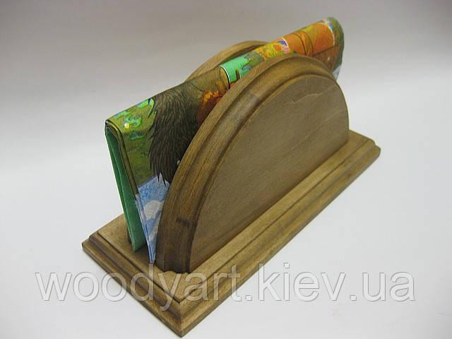 Салфетница из дерева