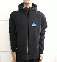 Спортивные кофты мужские Теплые РИБОК Темно синяя