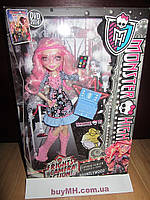 Кукла Monster High Frights, Camera, Action Viperine Gorgon Вайперин Горгон