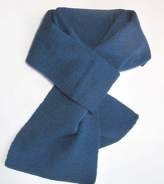 Детский шарф ширина 15 см длина 120 см
