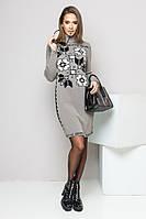 Вязаное платье Даша р 42-50, фото 1