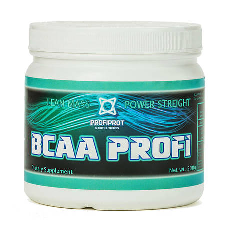 Аминокиcлоты BCAA 2:1:1, 500г PROFIPROT, фото 2