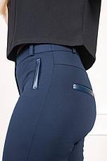 Женские синие брюки на байке Аманда, фото 3