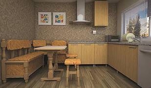Кухонный уголок ТИС Стандарт бук