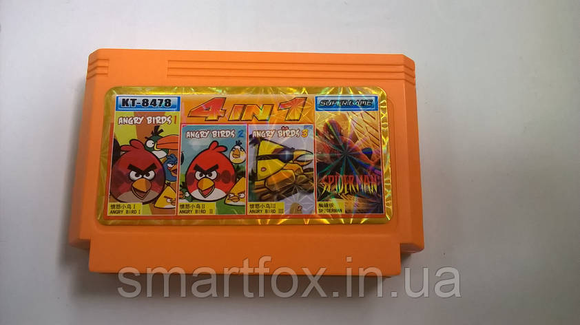 KT 8478 (4 in 1) ANGRY BIRD 1,2,3 + SPIDERMAN, фото 2