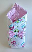 Осенний конверт на выписку из роддома, одеяло для новорожденного 010
