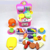 Детская кухня SG-285 с посудой и продуктами