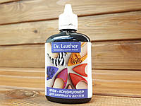Крем-кондиционер для гладкой кожи Dr.Leather 100мл цвет Черный