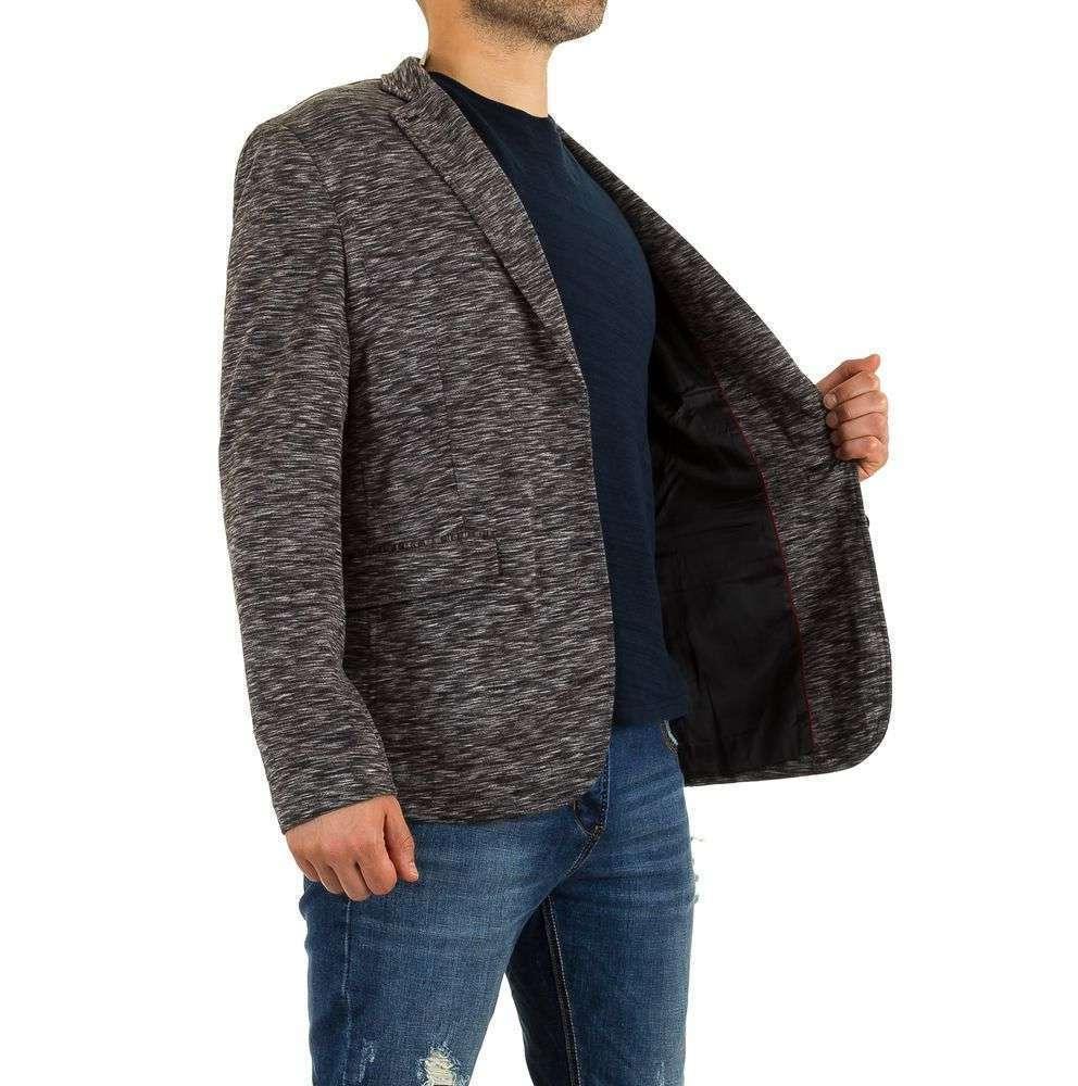 Блейзер мужской меланжевый Y.Two Jeans (Италия), Серый