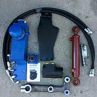 Комплект переоборудования рулевого управления ЮМЗ под насос дозатор. Малая кабина Белорусский