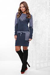 Женское платье вязаная 156