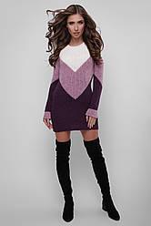 Модное женское платье вязаная в 5ти цветах 179