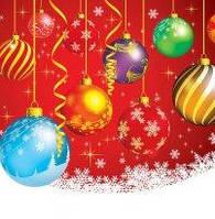 Новогодний пакет подарочный бумажный квадрат 23х24х10 (24-136)