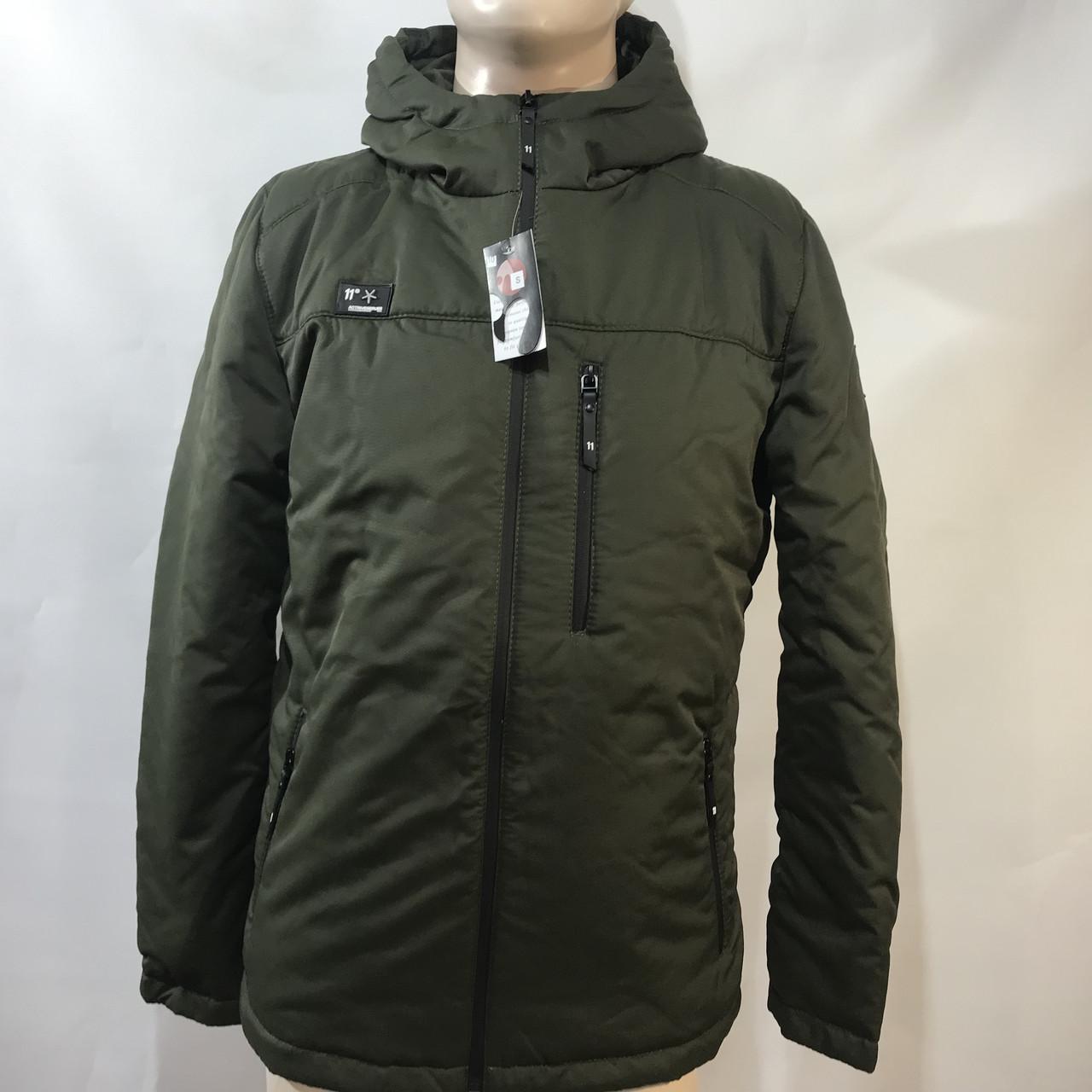 Куртка мужская / размеры s/ m/ l оливковая