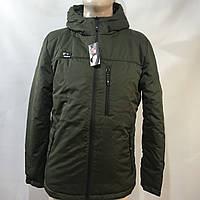 Куртка мужская / размеры s/ m/ l оливковая, фото 1