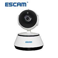 Охранная беспроводная Wi-Fi IP-камера ESCAM G10 720P. Ночное видение Видео и радионяня. Датчик движения. iCSee