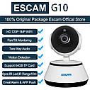 Охранная WiFi IP камера ESCAM G10 720P.  iCSee, фото 2