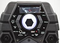 Беспроводная портативная bluetooth колонка - чемодан Q6  USB FM RADIO ПОЛНЫЙ КОМПЛЕКТ