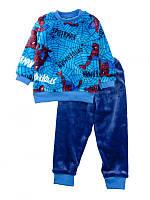Пижама домашний комплект для мальчика махровая