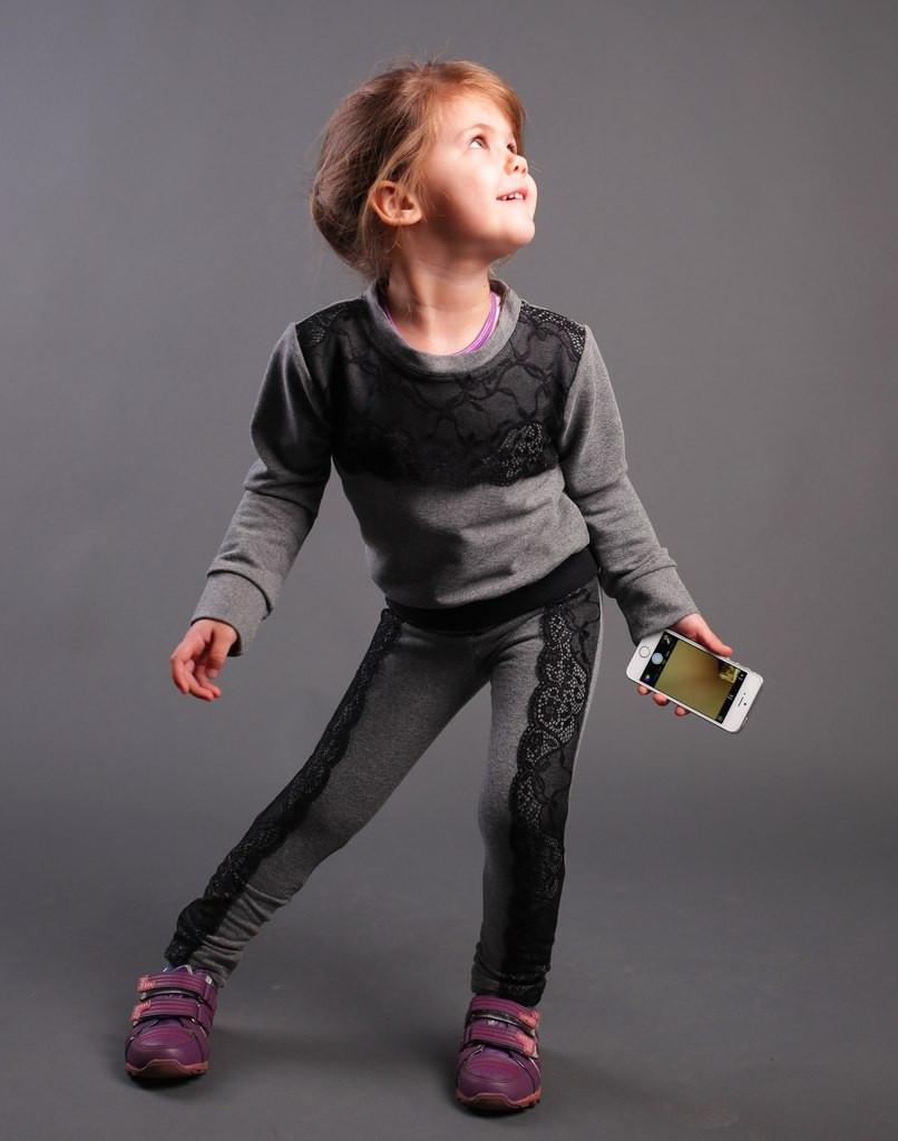 Спортивный костюм для девочек сшить