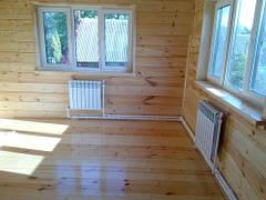 Радиаторное отопление комнаты