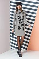 Вязаное платье Уля р 42-50, фото 1