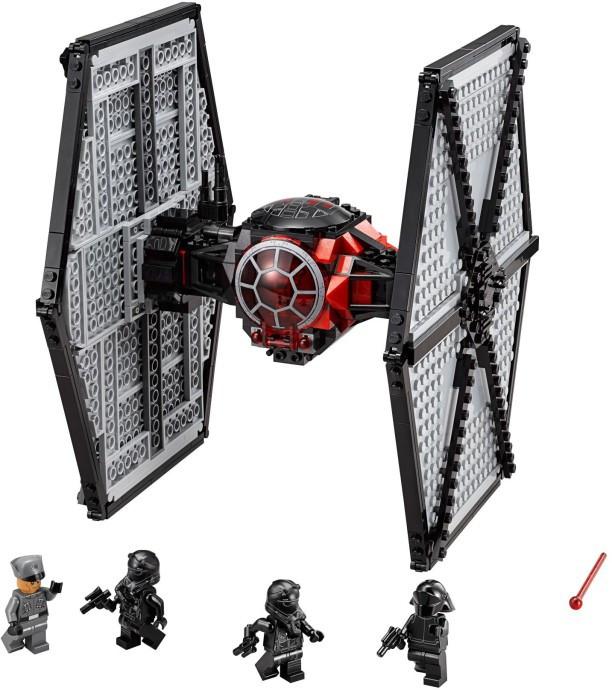 Конструктор Bela 10465 Star Wars Винищувач особливих військ-Першого Ордена 548 дет