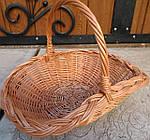 Плетена корзина подарункова