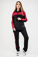 Женский спортивный костюм Джейла (черный) свободного кроя 44-54 размера, фото 1