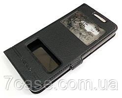 Чехол книжка с окошками momax для Samsung Galaxy Grand Prime G530h черный