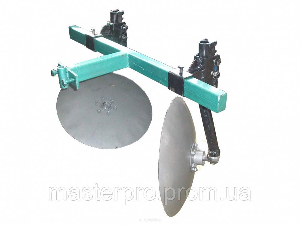 Окучник дисковый Ø 410мм регулируемый на 2-ой сцепке