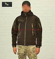 Куртка тактическая (Нацгвардия, СБУ, ВСУ, ГПСУ). Оригинальная ткань softshell (ветровлагозащитная), фото 1