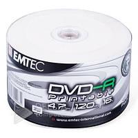 Диск для записи DVD-R Emtec printable 50шт (Цена указана за 1шт)