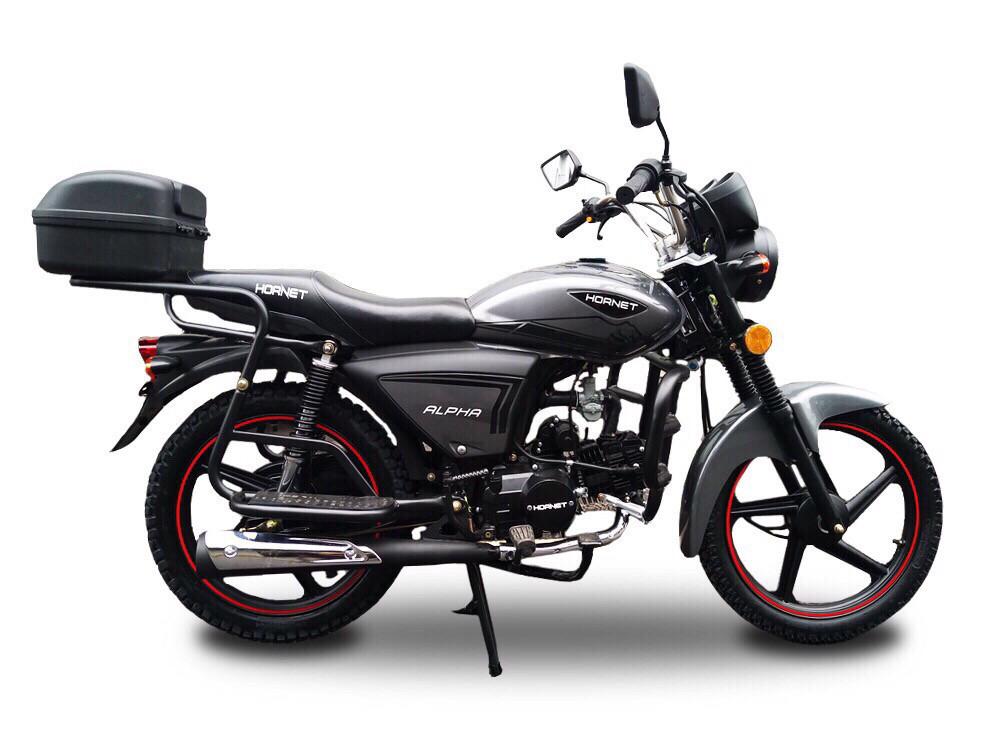 Мотоцикл HORNET Alpha (LUX) 125куб.см, мокрый асфальт