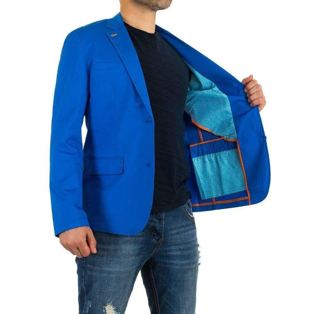 Яркий пиджак мужской Y.Two Jeans (Италия), Синий