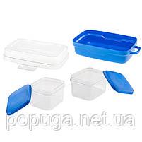 Набор контейнеров для транспортировки еды PET RISTO, фото 6