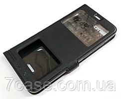 Чехол книжка с окошками momax для Xiaomi Redmi 6A черный