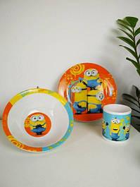 Посуда детская из стекла и керамики
