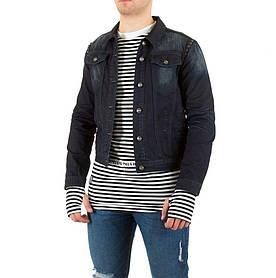 Джинсовая куртка мужская Sixth June (Европа), Темно-синий