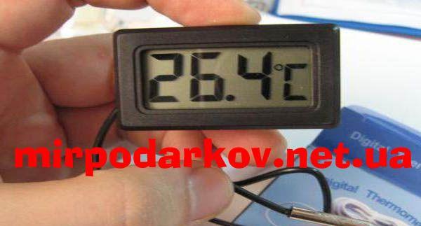 Цифровий LCD термометр з виносним датчиком