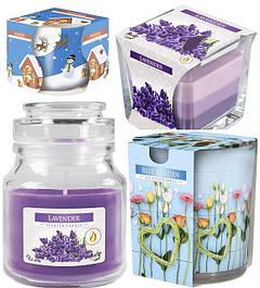 Свечи ароматические в стекле